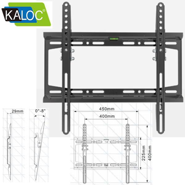 Monitor Wall mount KALOC KLC-E10-T (32