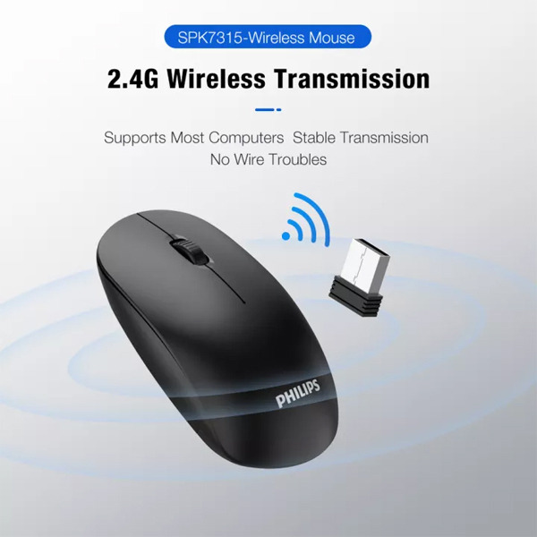 Mouse Wireless PHILIPS M315
