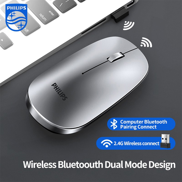 Mouse Wireless/Bluetooth PHILIPS M355