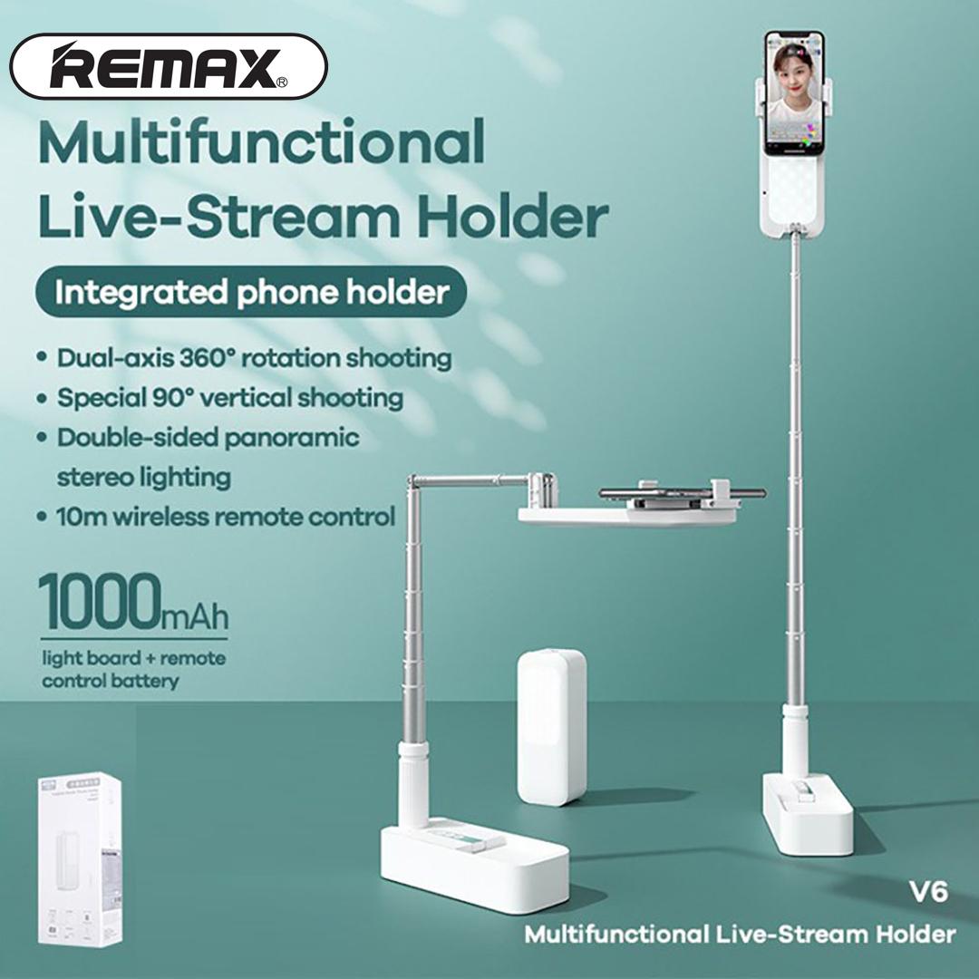 Multifunctional Live-Stream Holder REMAX V6