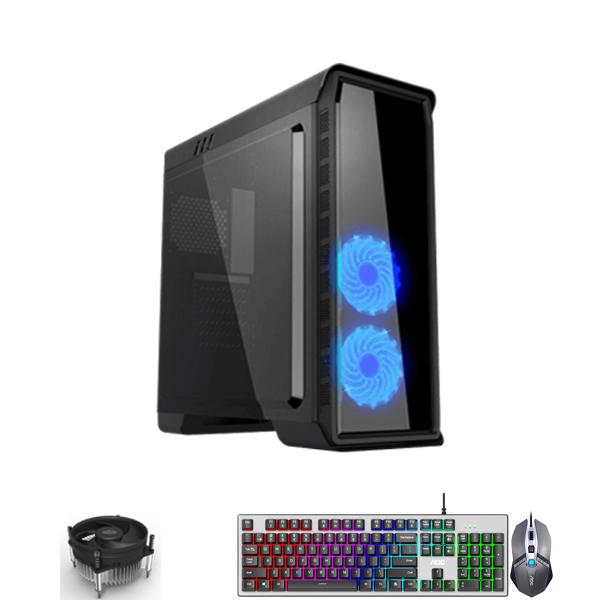 PC-Case Gaming/Design Intel® Core™ i5-9400F 2.9Ghz(Tubor 4.1Ghz) 6cores-6threads | Mainboard B365M | RAM DDR4 8Gb | M.2 Sata 120Gb + HDD1000Gb | PSU 500W | KB&Mouse | No Monitor