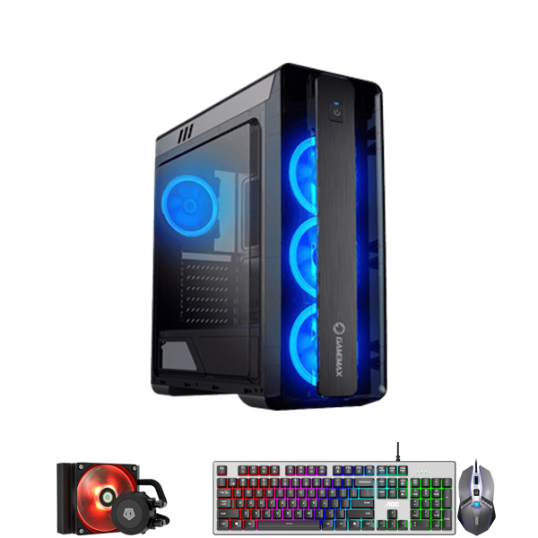 PC-Case Gaming/Design Intel® Core™ i7-4770 3.4Ghz(Tubor 3.9Ghz) 4cores-8threads | Mainboard H97 | RAM DDR3 16Gb | M.2 NVME 250Gb + HDD1000Gb | PSU 500W | KB&Mouse | No Monitor