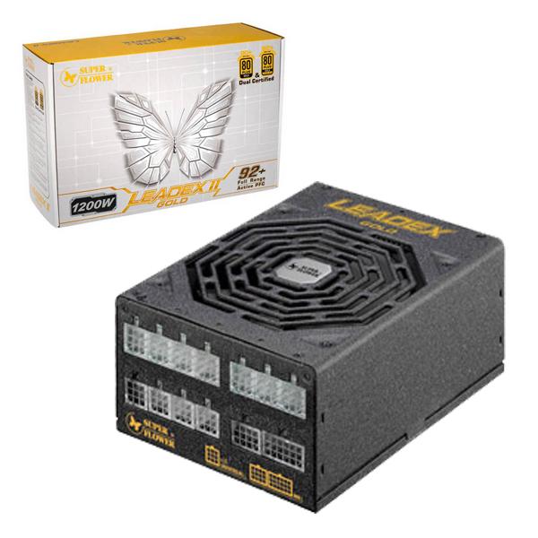 PSU 1200W Super Flower Leadex II (SF-1200F14EG) / 80+ Gold, Full-Modular