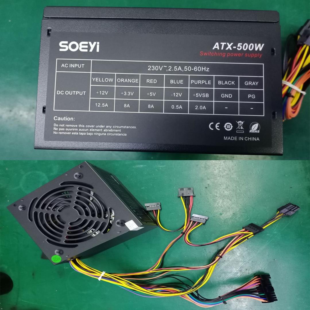 PSU 500W SOEYi FAN12
