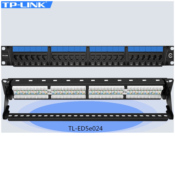 Patch panel 24 port CAT5 TP-Link TL-ED5e024