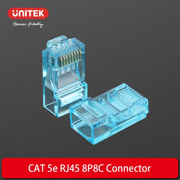 Plug RJ45 CAT5 Unitek Y-OT18TP (BOX 100)