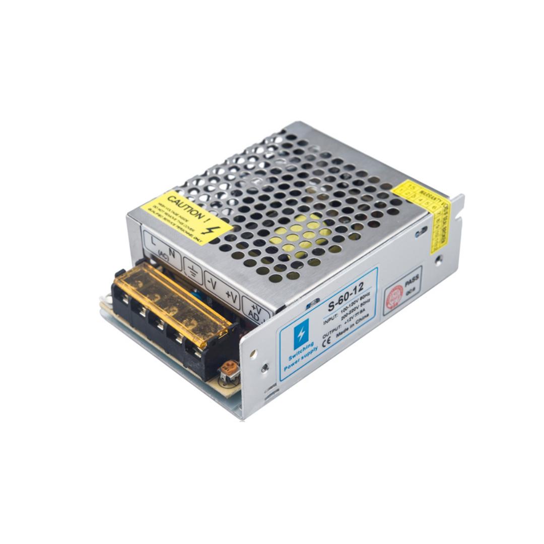 Power Supply 12V-5A Centralized CCTV