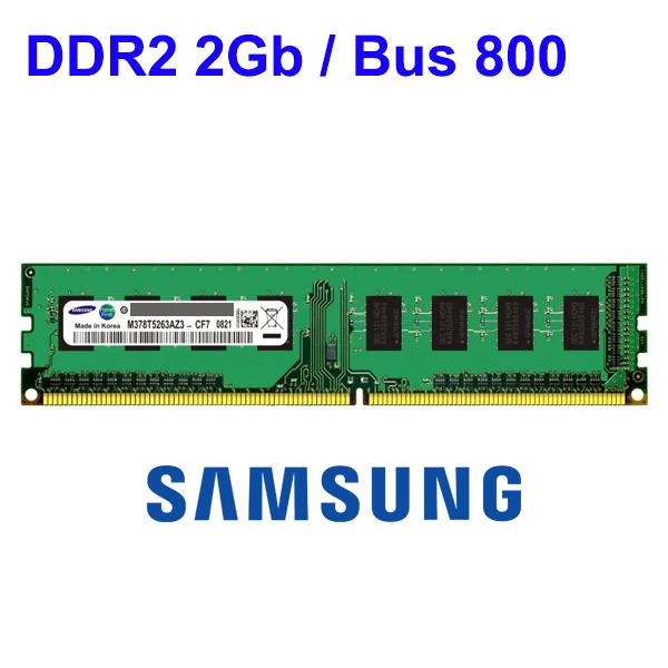 RAM DDR2 2Gb PC (Bus 800) Micron