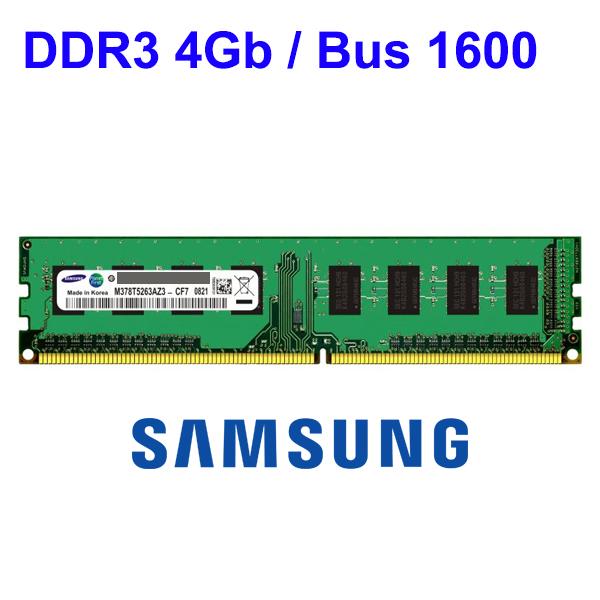 RAM DDR3 4Gb PC (Bus 1600) Micron