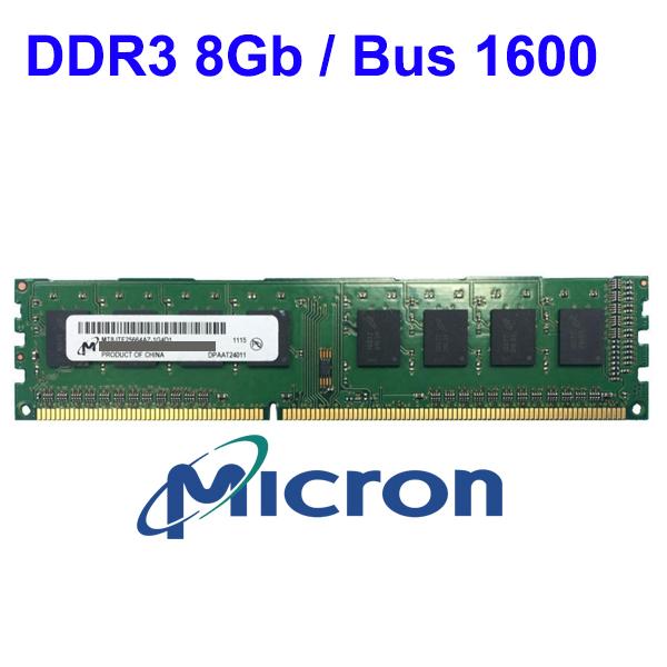 RAM DDR3 8Gb PC (Bus 1600) Micron