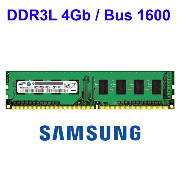 RAM DDR3L 4Gb PC Micron