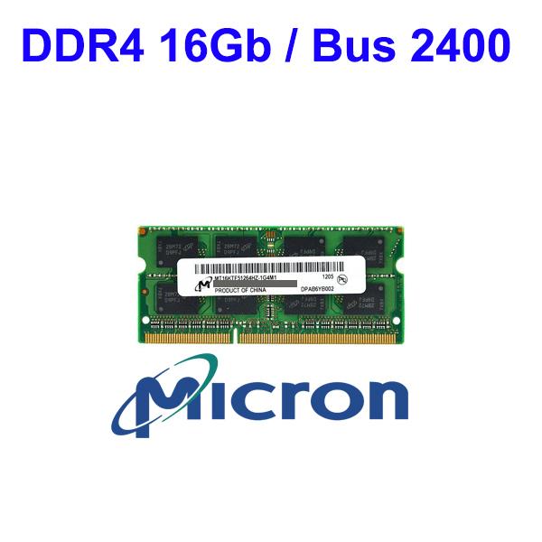 RAM DDR4 16Gb Notebook (Bus 2400) Micron