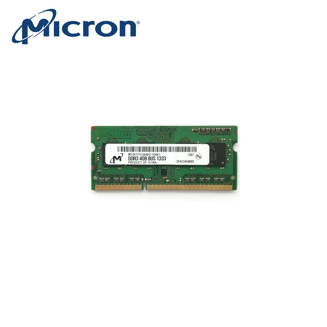 RAM Laptop DDR3 4Gb (Bus 1333) Micron