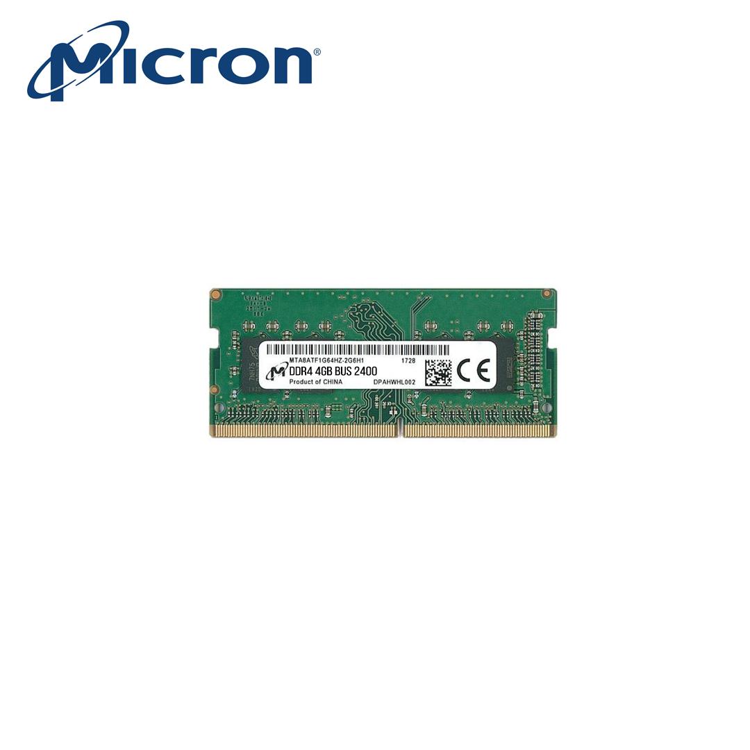 RAM Laptop DDR4 4Gb (Bus 2400) Micron
