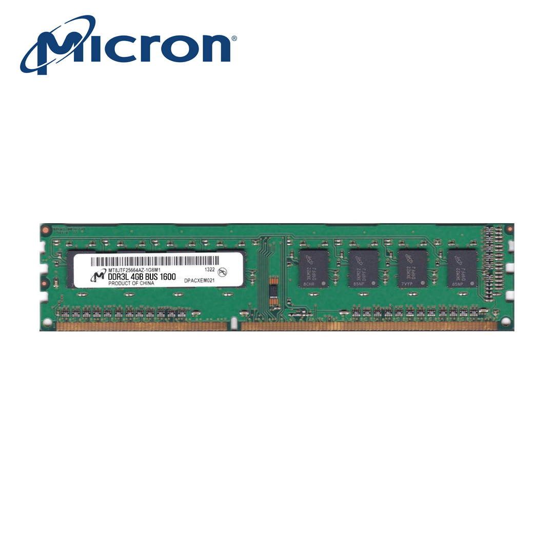 RAM PC DDR3L 4Gb (Bus 1600) Micron
