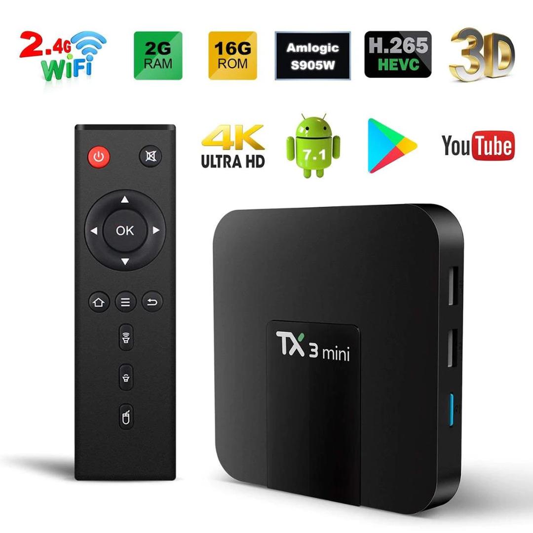 Smart TV Box TANIX TX3 Mini / Quad.RAM2Gb.ROM16Gb