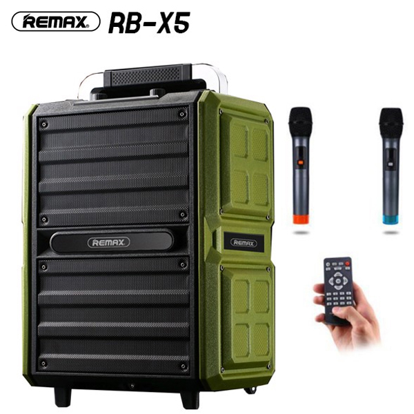 Speaker Karaoke Bluetooth REMAX RB-X5 / 2Mic