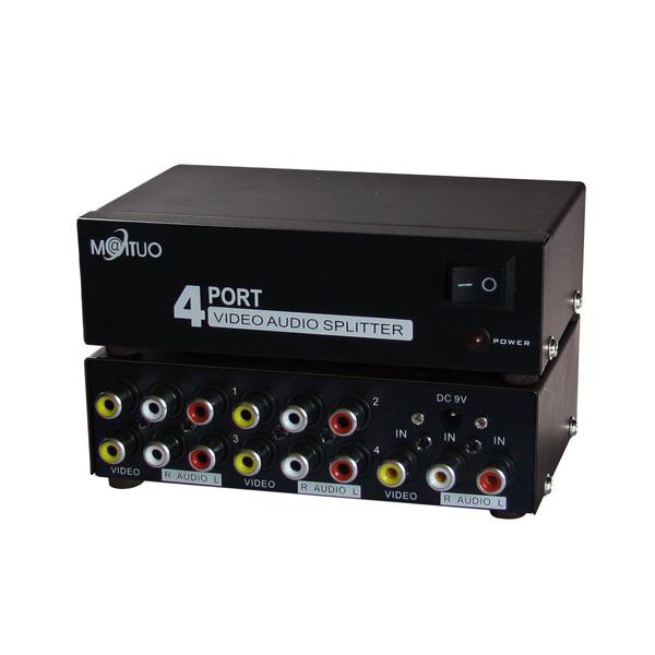 Switch AV 1 to 4 MT-VIKI MT-104AV / FJGEAR FJ-104AV