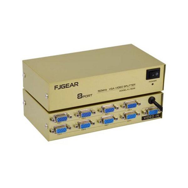 Switch VGA 1 to 8 FJGEAR FJ-2008 (200Mhz)