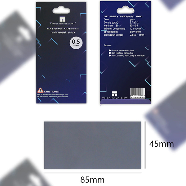 Thermal Pad Extreme Odyssey (85*45*0.5mm)