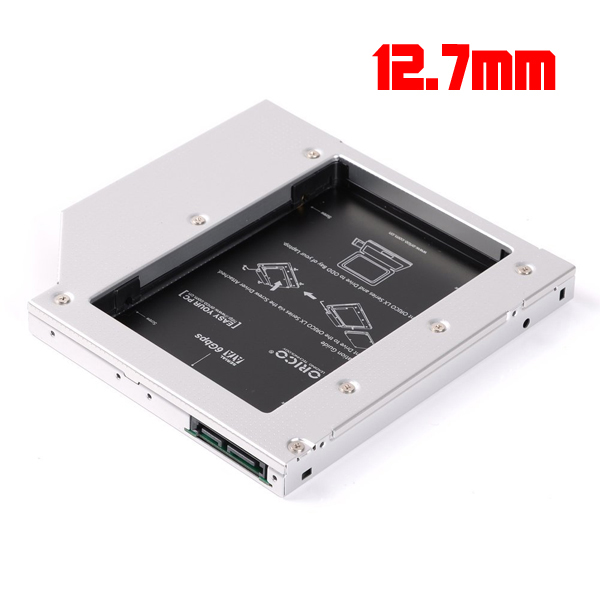 Tray DVD to HDD/SSD 12.7mm for Notebook