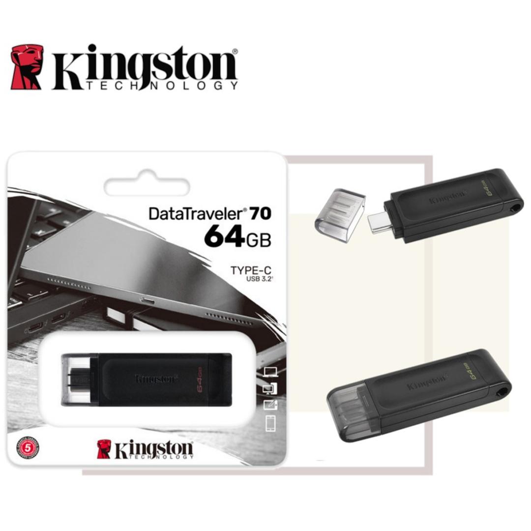 USB(3.2) Type-C Flash Driver 64Gb Kingston (DT70)
