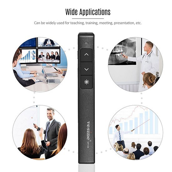 Vesine VP158 Wireless Presenter for Projector