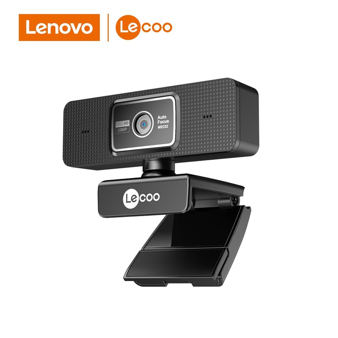 Webcam FullHD 1080p / Mic USB Lenovo Lecco WEC02/Auto-Focus