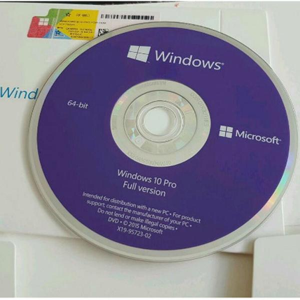 Win Pro 10 64bit Eng Intl 1pk DSP OEI Version 1703 FQC-08929