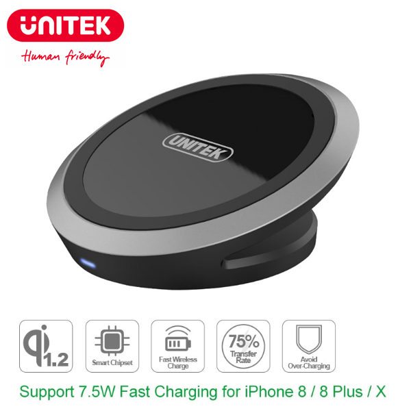Wireless Fast Charging (QI) Unitek M003A