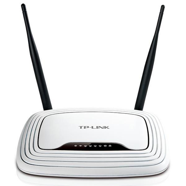 Wireless Router 300Mbps TP-Link TL-WR841N (2*5dBi Antena, 1WAN - 4LAN 10/100)