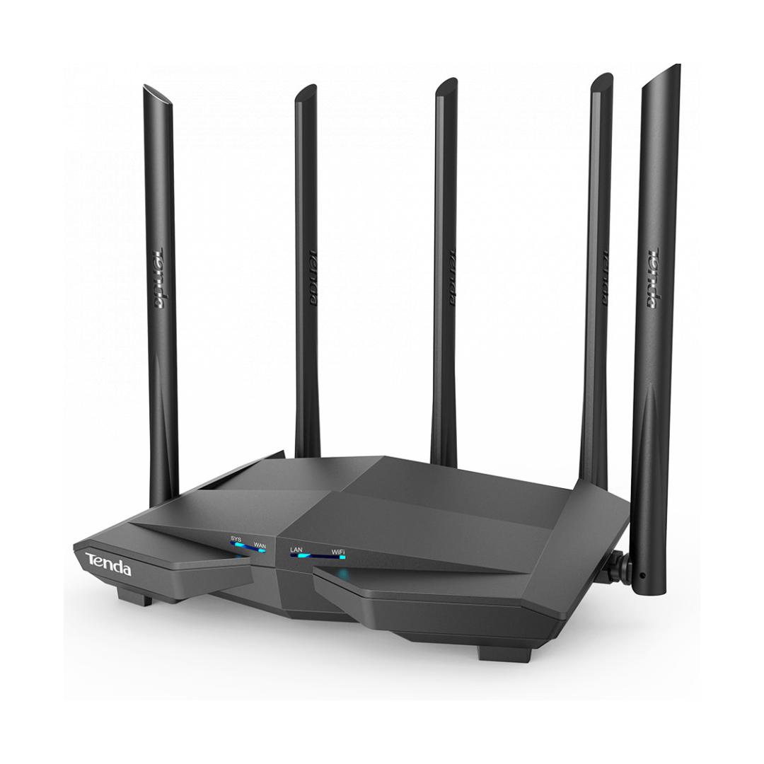 Wireless Router AC1200 Tenda AC11 (5*6dBi Antena, 1WAN - 3LAN 10/100/1000)