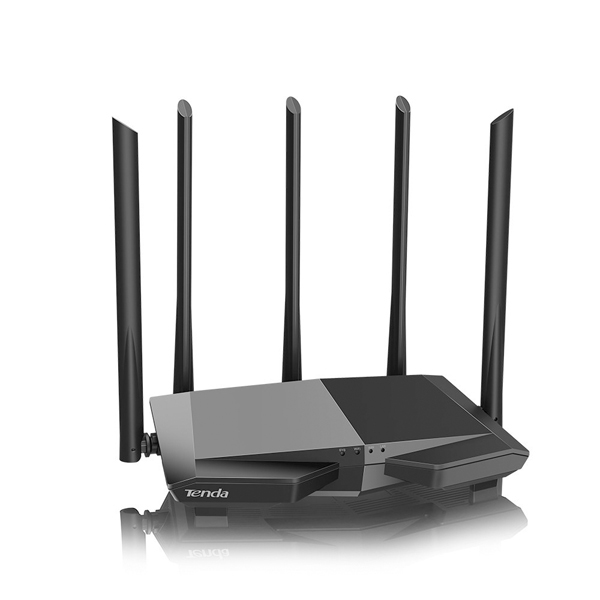 Wireless Router AC1200 Tenda AC7 (5*6dBi Antena, 1WAN - 3LAN 10/100)
